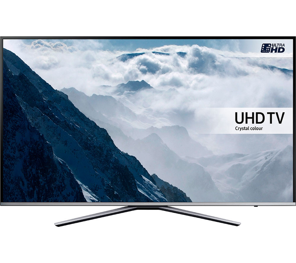 buy samsung ue55ku6400 smart 4k ultra hd hdr 55 led tv. Black Bedroom Furniture Sets. Home Design Ideas