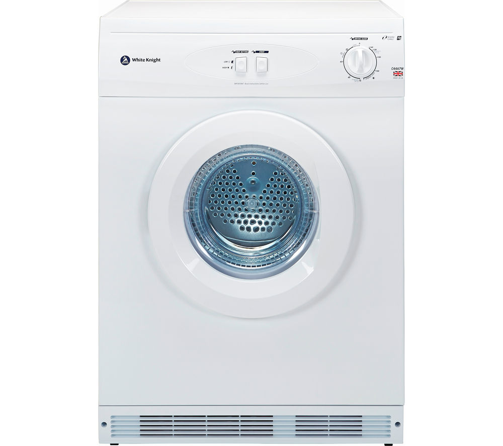 WHITE KNIGHT C44A7W Vented Tumble Dryer Review