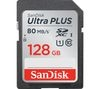 SANDISK Ultra Plus Class 10 SD Memory Card - 128 GB