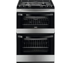 ZANUSSI ZCG63040XA 60 cm Gas Cooker - Stainless Steel