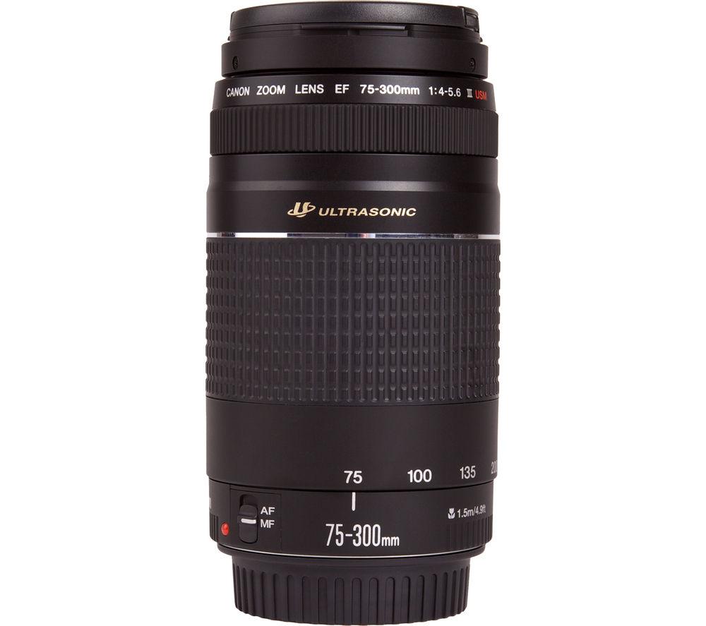CANON EF 75-300 mm f/4.0-5.6 USM III Telephoto Zoom Lens