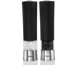 TOWER T80400 Salt and Pepper Mill - Black