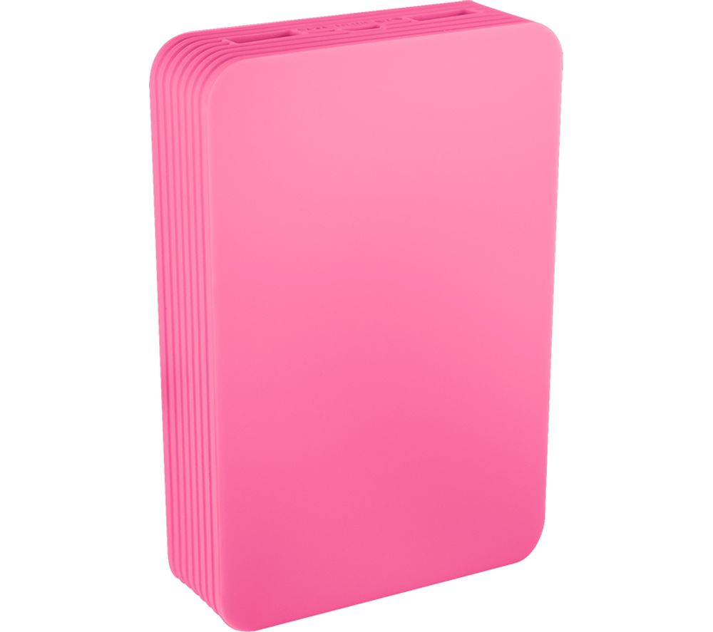 JUICE Power Station Go Portable Power Bank - Pink