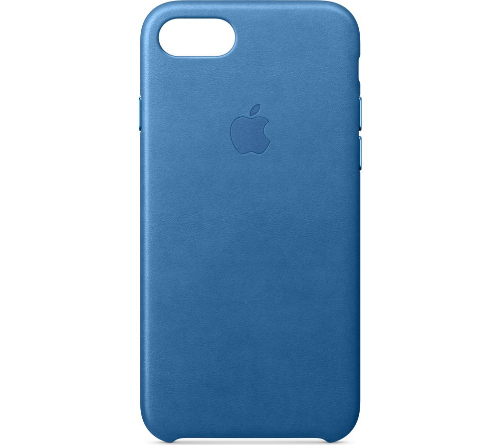 APPLE Leather iPhone 7 Case - Sea Blue