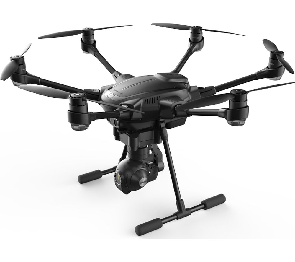 YUNEEC Typhoon H Drone with Controller - Black