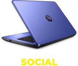 "HP 14-an063sa 14"" Laptop - Blue"