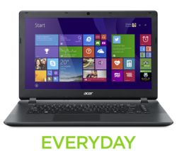 "ACER Aspire ES1-522 15.6"" Laptop - Black"