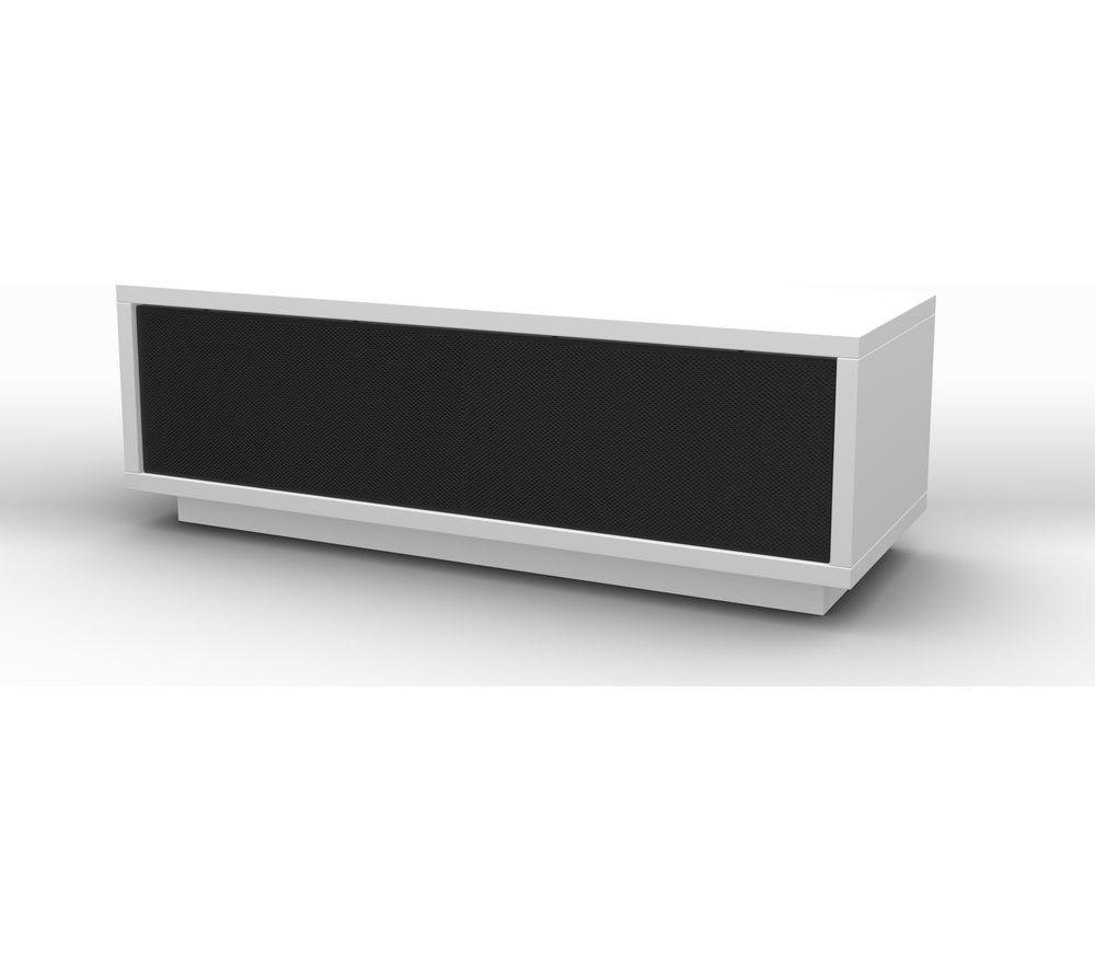 SCHNEPEL  VariC 2.0 Sound TV Stand  Gloss White & Black White