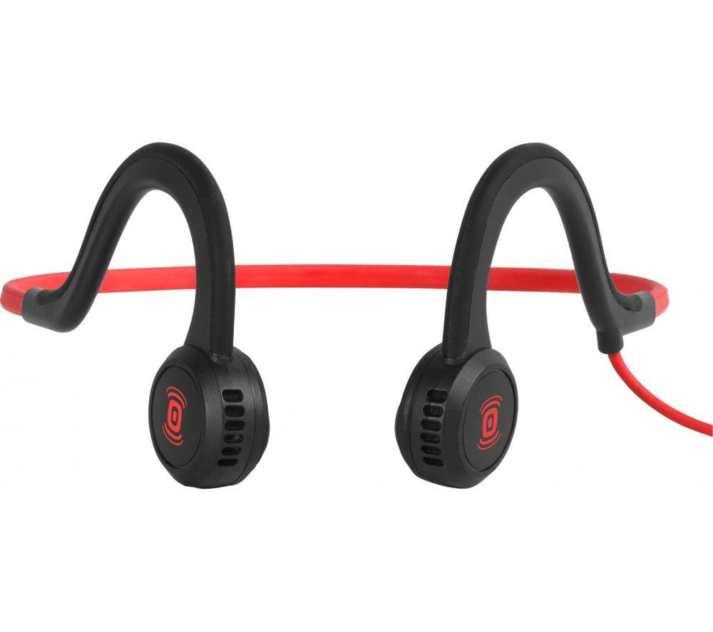 AFTERSHOKZ Sportz Titanium Headphones - Lava