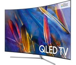 "SAMSUNG QE55Q7CAMT 55"" Smart 4K Ultra HD HDR Curved Q LED TV"