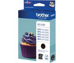 BROTHER LC123BK Black Ink Cartridge