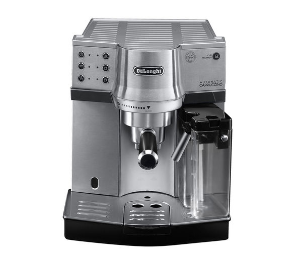Delonghi EC860.M Coffee Machine   Silver, Silver
