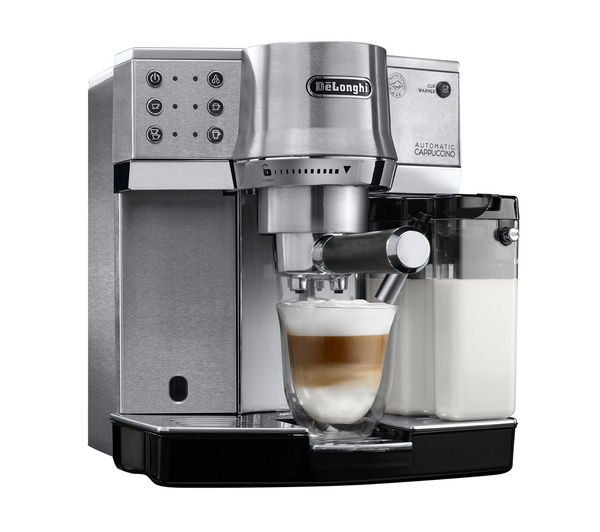 Buy Delonghi Ec860 M Coffee Machine Silver Free