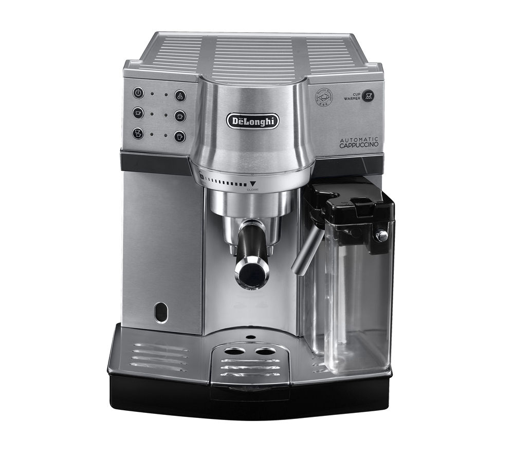 buy delonghi ec860 m coffee machine silver free delivery currys. Black Bedroom Furniture Sets. Home Design Ideas