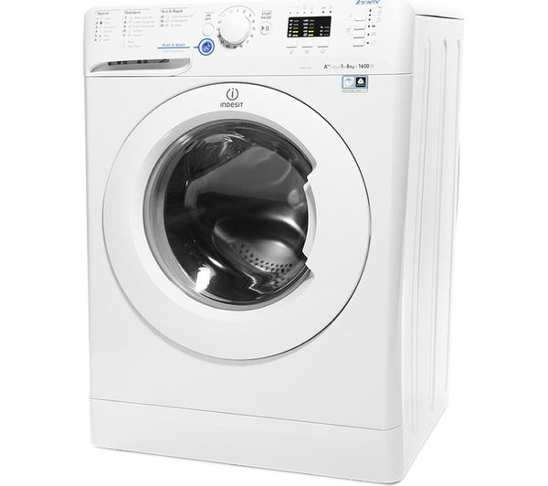 buy indesit xwa81682xwuk washing machine white free. Black Bedroom Furniture Sets. Home Design Ideas
