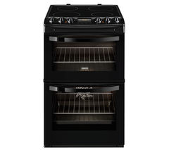 ZANUSSI ZCV46330BA Electric Ceramic Cooker - Black