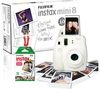 FUJIFILM Instax Mini 8 Instant Camera & 10 Shot Bundle - White