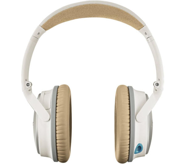 Buy BOSE QuietComfort 25 Noise-cancelling Headphones - White | Free ...