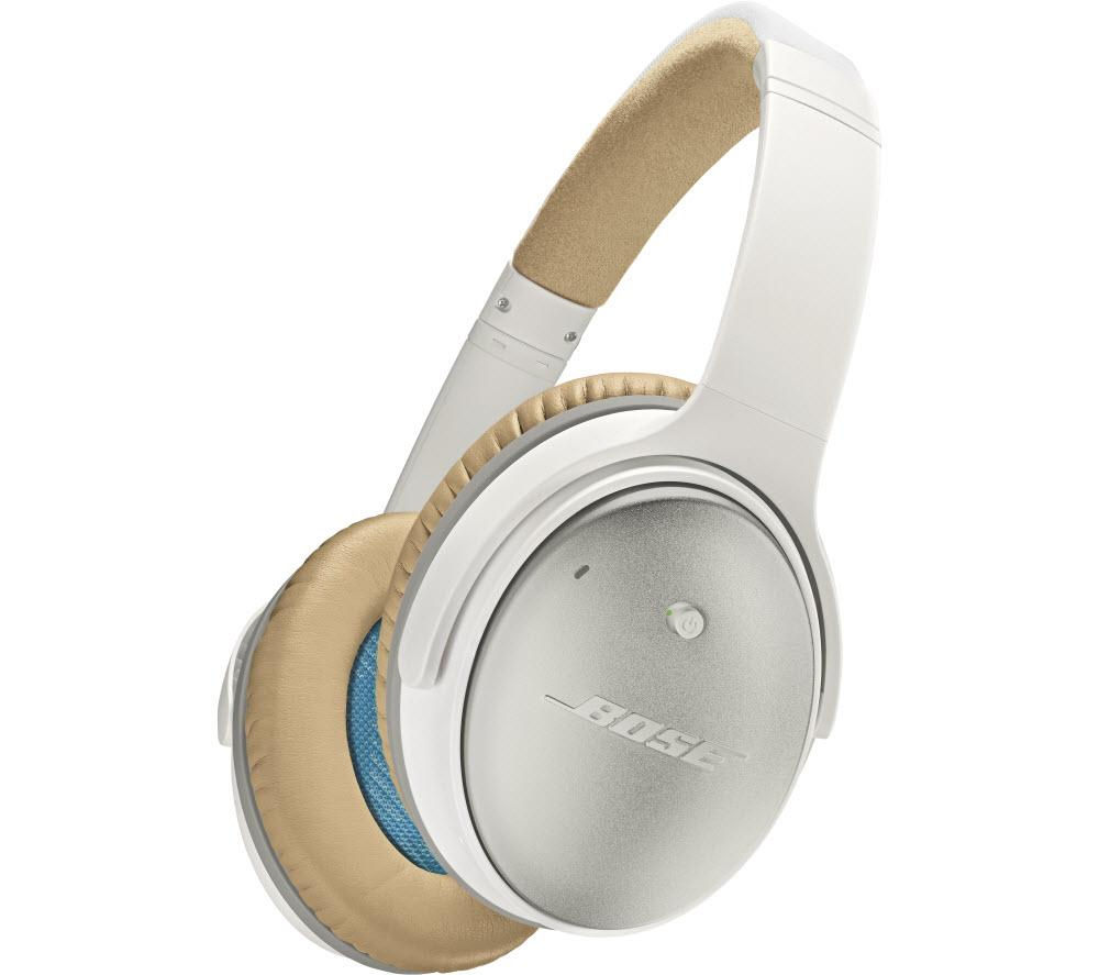 BOSE QuietComfort 25 Noise-cancelling Headphones - White