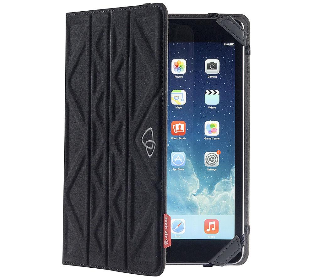 "Image of Techair TAXUT018 Folio Flip & Reverse 7"" Tablet Case - Black & Grey, Black"