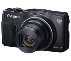 CANON PowerShot SX710 HS Superzoom Compact Camera - Black