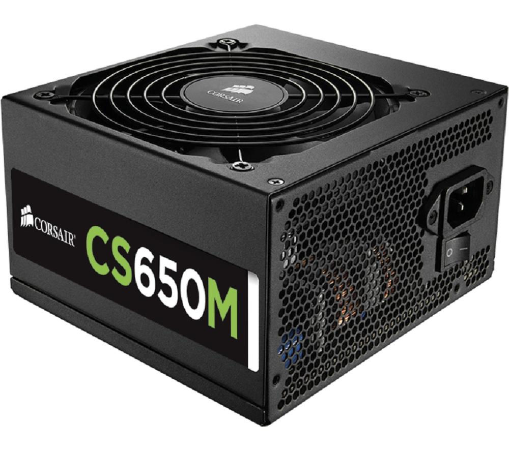 CORSAIR CS650M Gold ATX PSU - 650 W