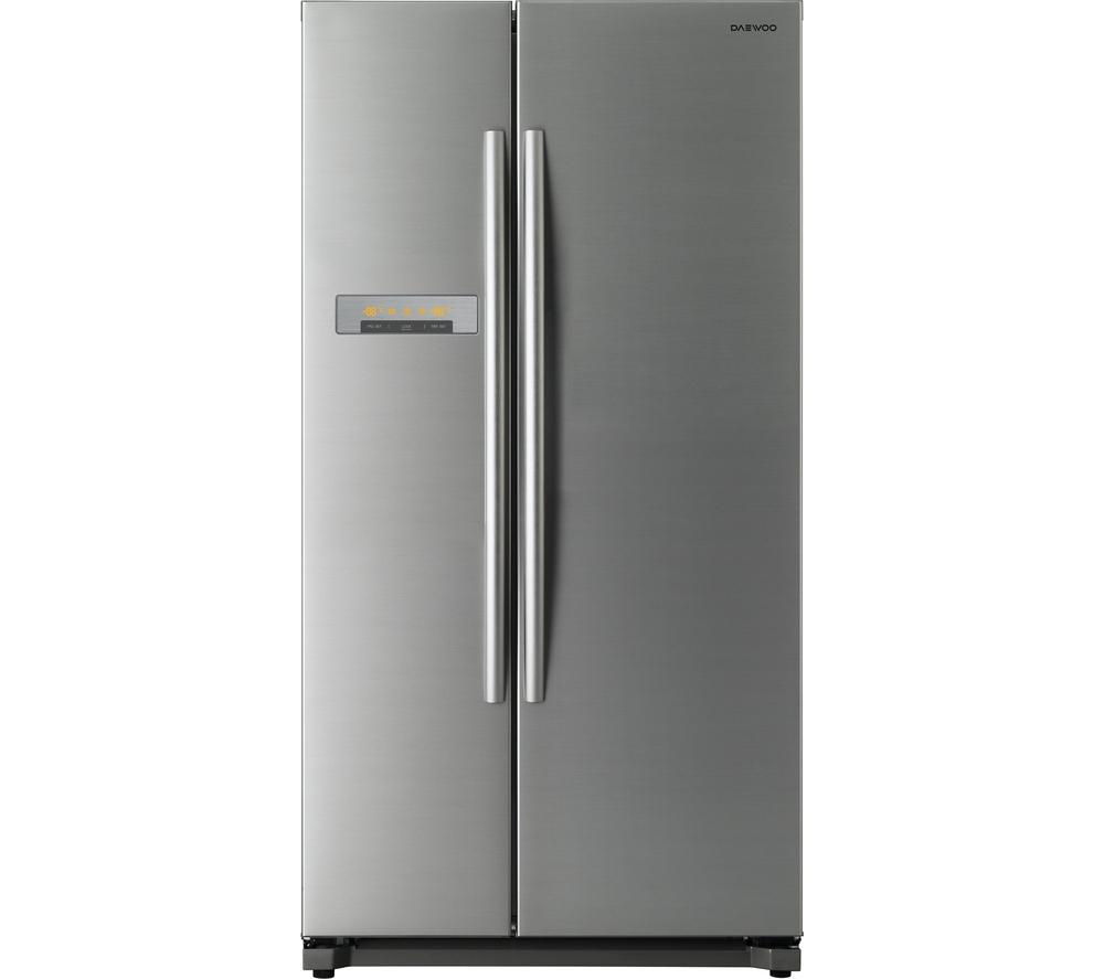 DAEWOO DRX31B3S American Style Fridge Freezer - Silver