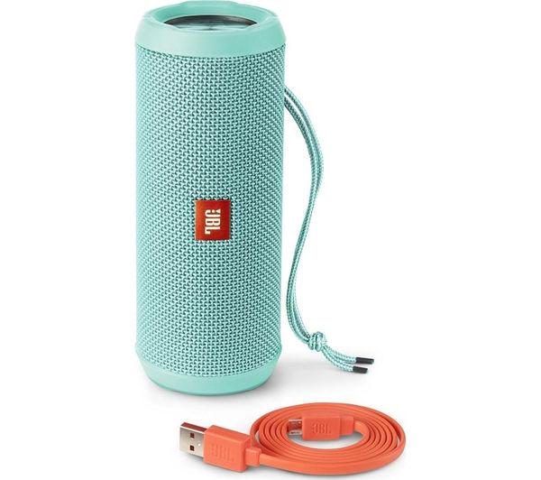 Image of JBL Flip 3 Portable Wireless Speaker - Teal