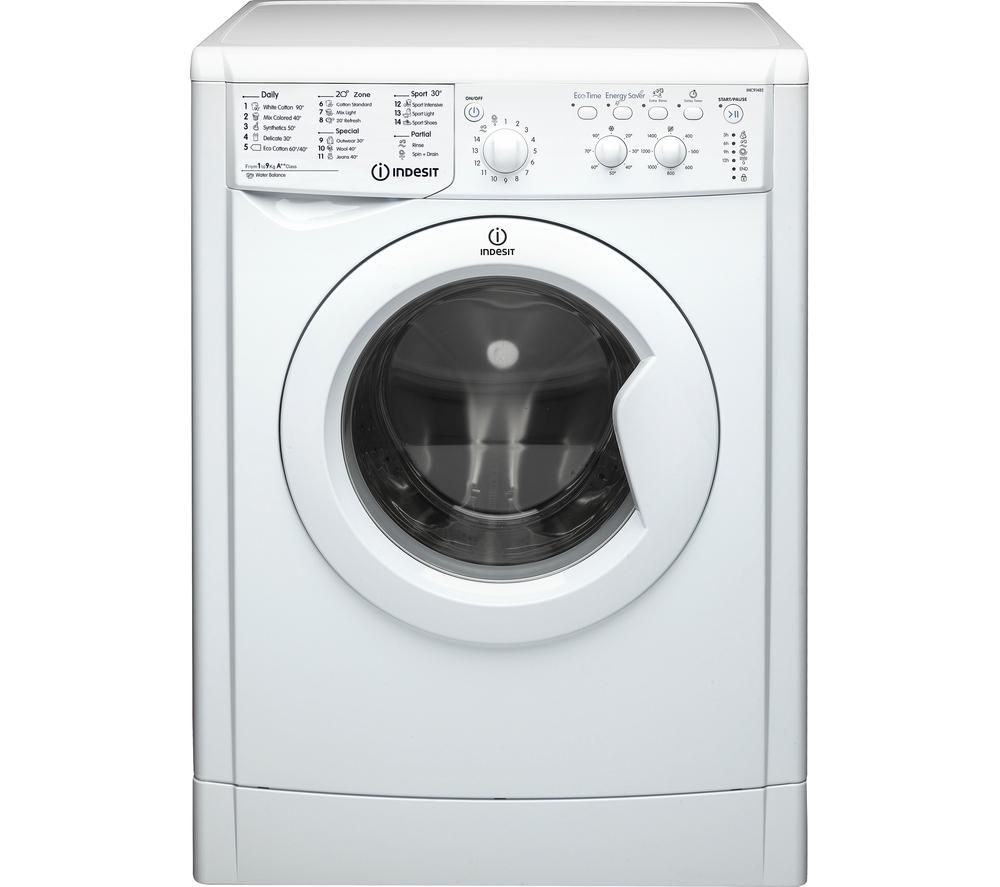 Buy Indesit Iwc91482eco Washing Machine White Free