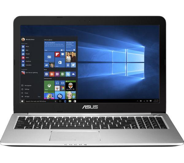 """ASUS K501UB 15.6"""" Laptop - Black"""