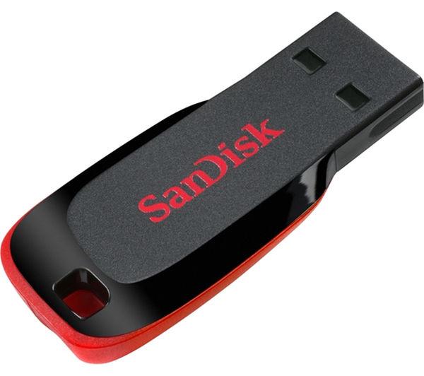 sandisk cruzer blade usb memory stick 8 gb black deals. Black Bedroom Furniture Sets. Home Design Ideas