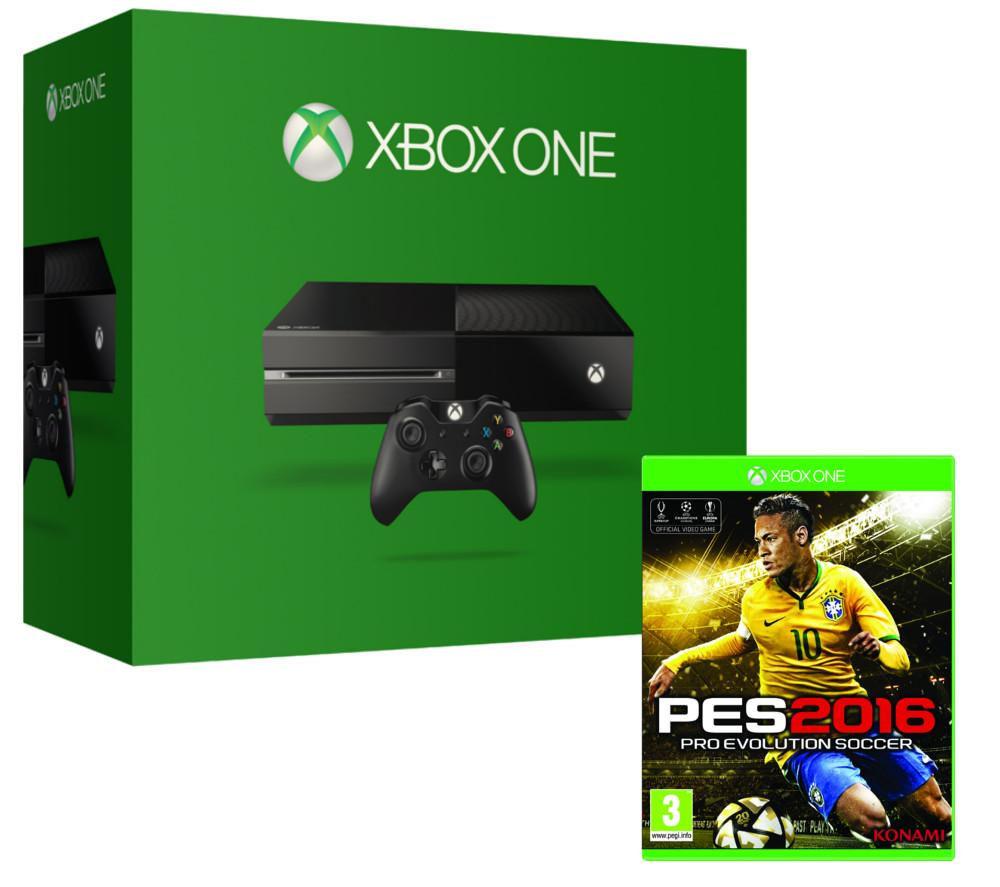 Microsoft Xbox One & PES 2016 Bundle