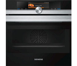SIEMENS CM678G4S1B Built-in Combination Microwave - Stainless Steel
