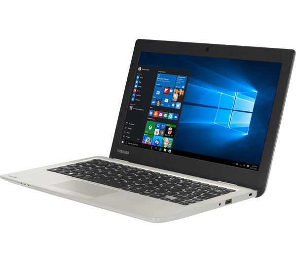 "Image of TOSHIBA Satellite CL10-C-102 11.6"" Laptop - Silver"
