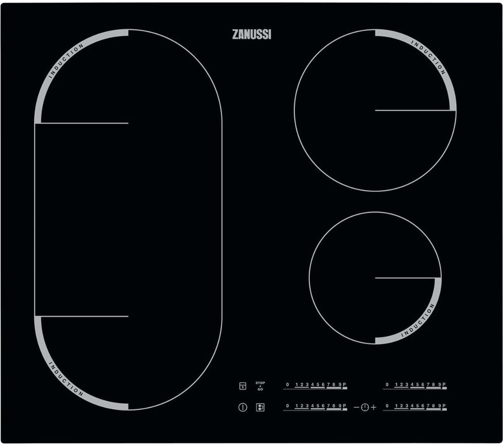 ZANUSSI ZEM6740FBA Electric Induction Hob - Black