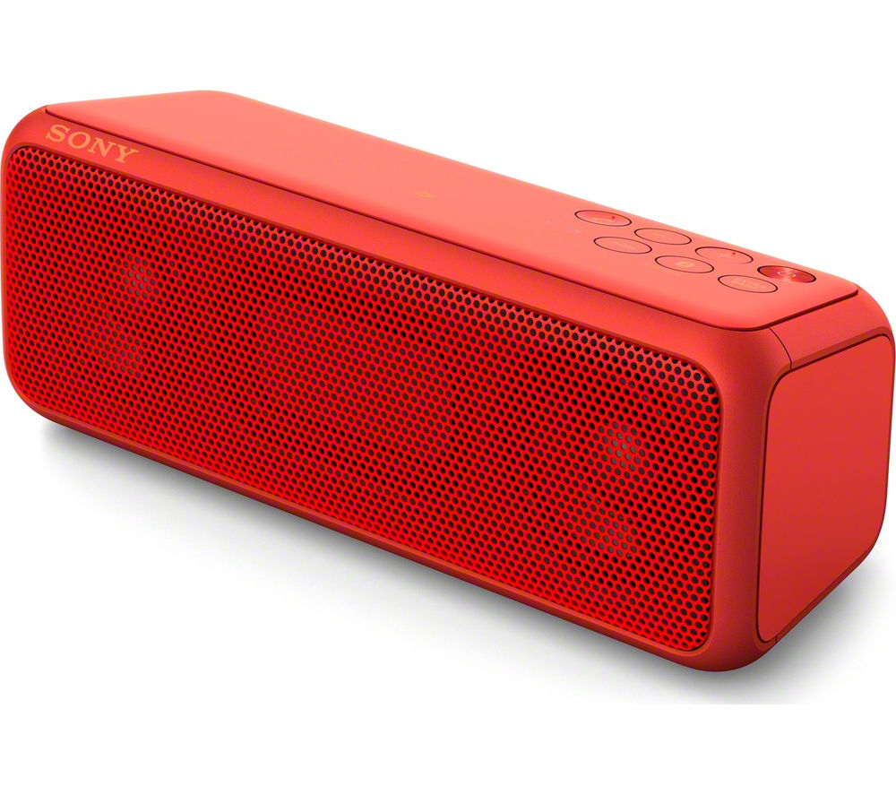 Click to view more of SONY  SRSXB3R Portable Wireless Speaker - Red, Red