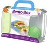 SISTEMA Bento Box To Go Rectangular Lunchbox - Clear