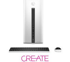 HP Pavilion 550-277na Desktop PC - White