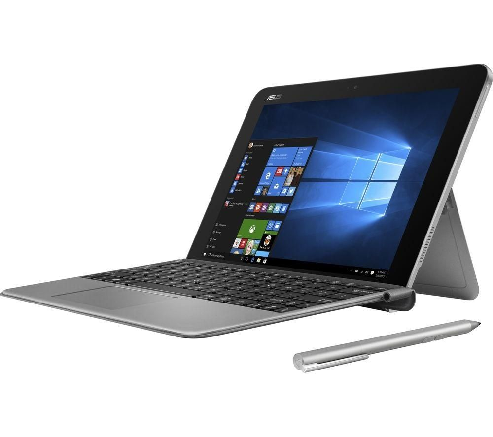 asus transformer mini t102ha 101inch 2 in 1 silver silver