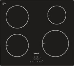 BOSCH PIE611B18E Electric Induction Hob - Black