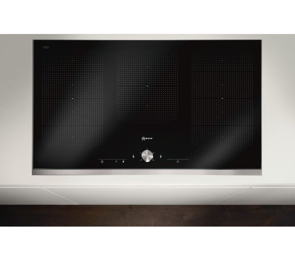 buy neff t54t97n2 electric induction hob black free delivery currys. Black Bedroom Furniture Sets. Home Design Ideas