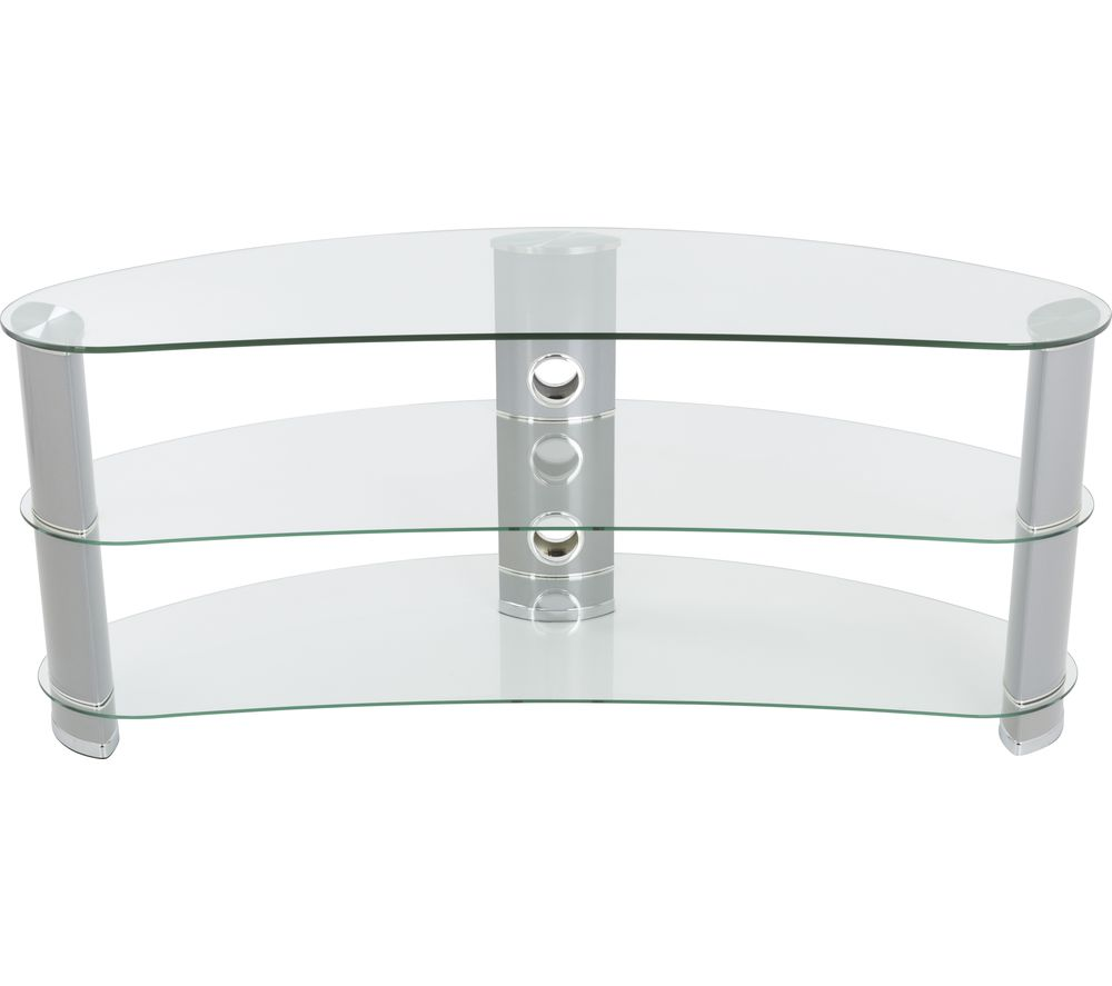 AVF Jellybean FS1200CURCS TV Stand - Silver