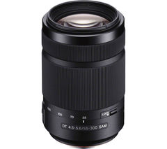 SONY SAL55300 55-300mm f/4.5-5.6 SAM Telephoto Zoom Lens