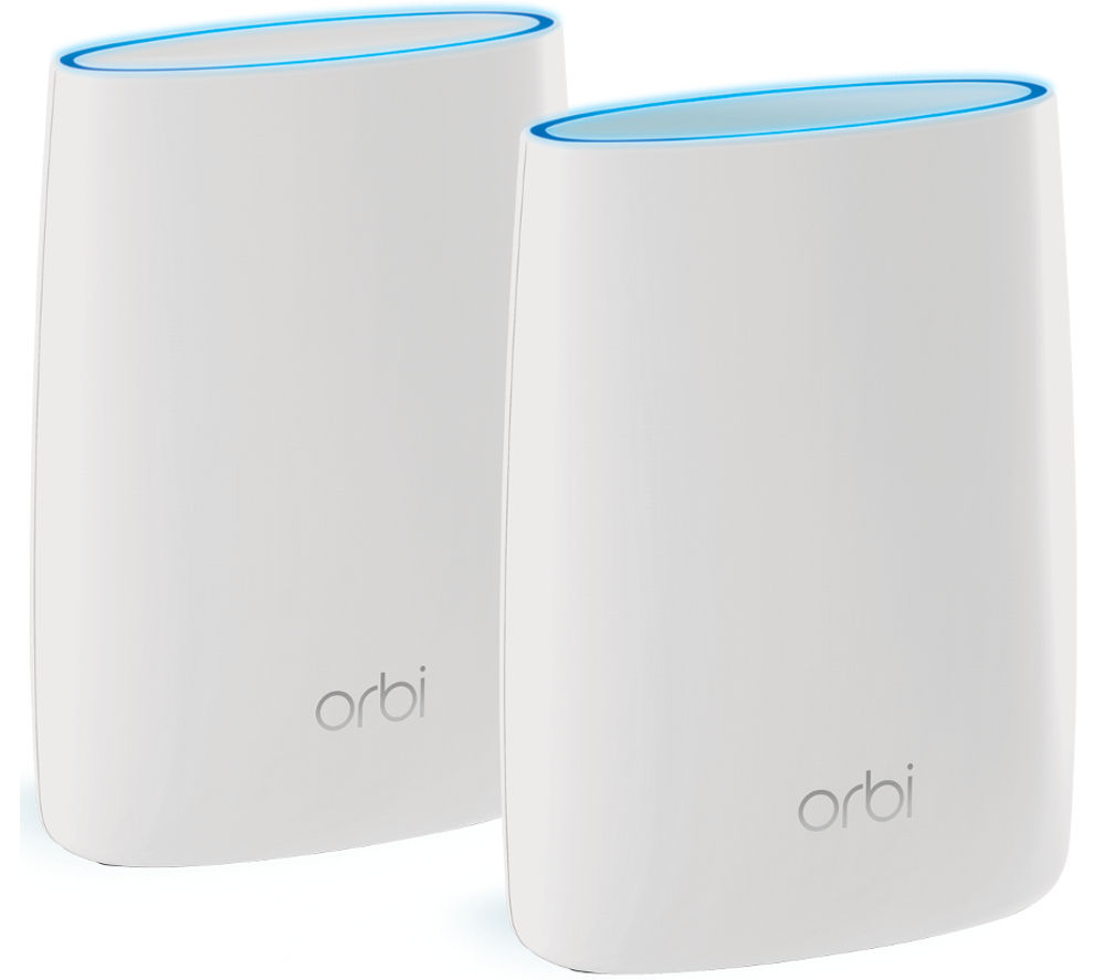 NETGEAR Orbi RBK50 Whole Home WiFi System - Twin Pack