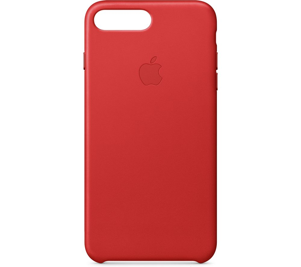 APPLE Leather iPhone 7 Plus Case - Red
