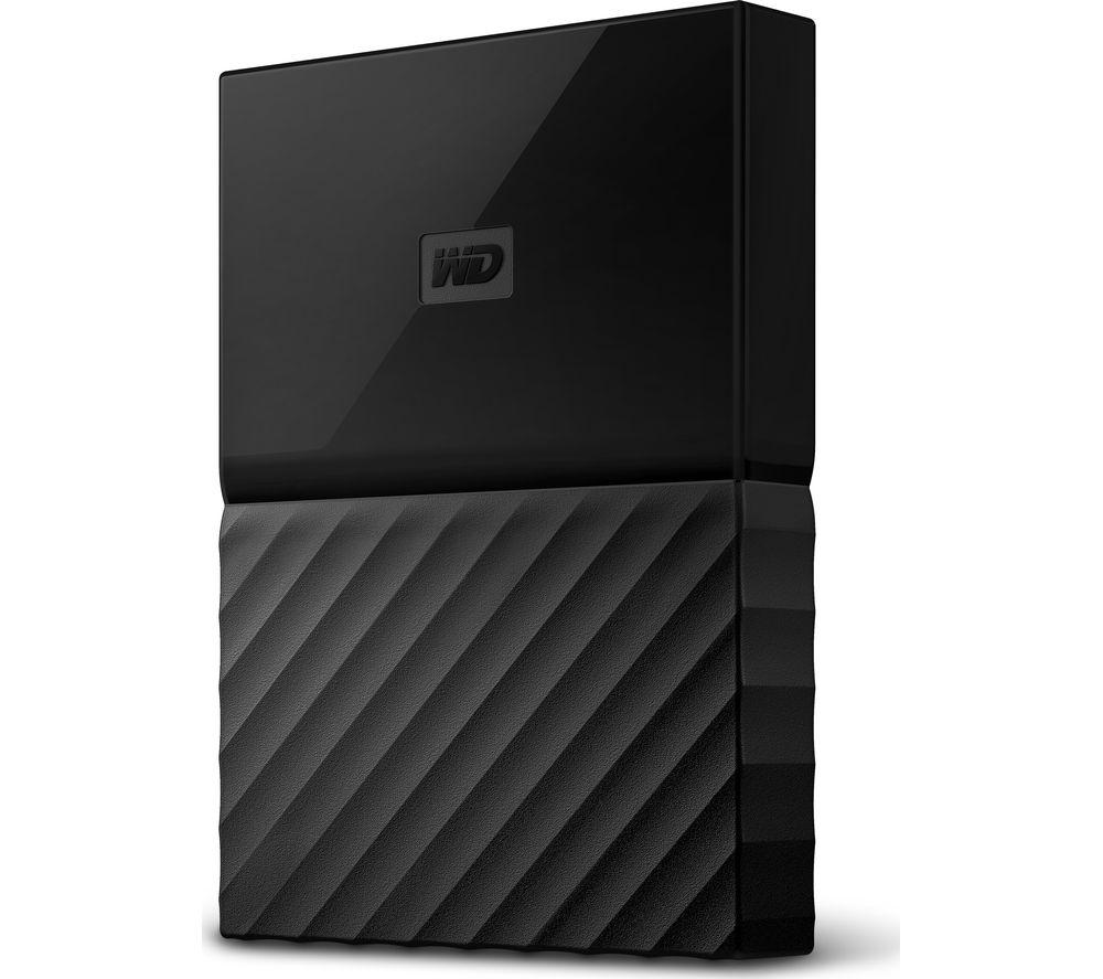 WD My Passport for Mac Portable Hard Drive - 2 TB, Black