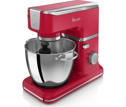 SWAN Retro SP21010RN Stand Mixer - Red