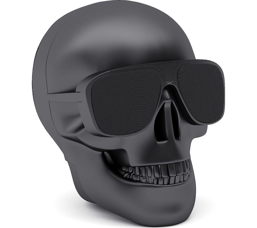 Click to view more of JARRE  Aero Skull Nano Wireless Portable Speaker - Matte Black, Black