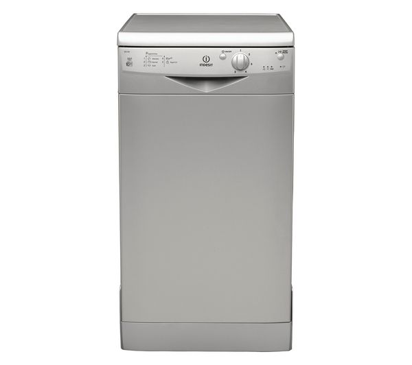 IDS105S Slimline Dishwasher  Silver Silver