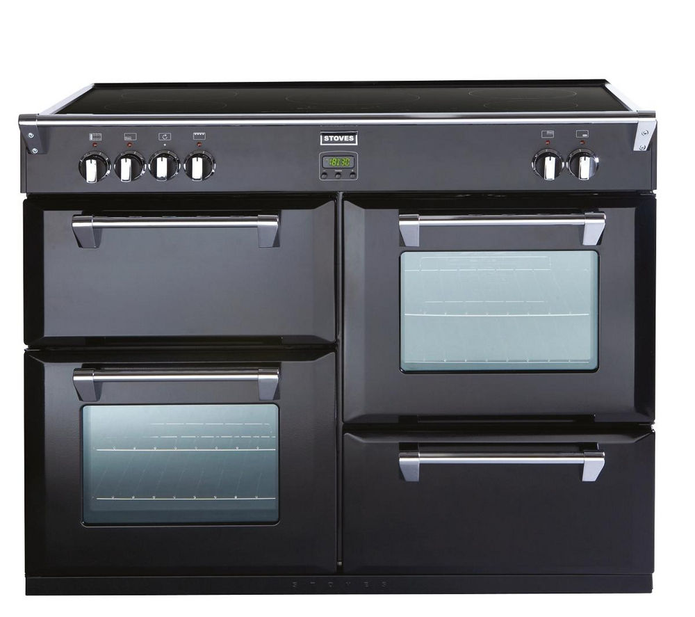 STOVES Richmond 1100Ei Electric Induction Range Cooker - Black